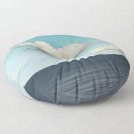 Strange Clouds Floor Pillow