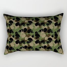 SKULL CAMO Rectangular Pillow