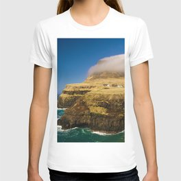 The Island Waterfall (Color) T-shirt