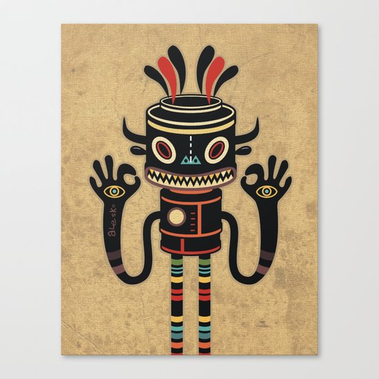Tribe Gathering Canvas Print