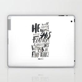 Psalm 91: 4 Laptop & iPad Skin