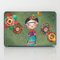 frida kahlo iPad Cases featuring Frida Kahlo by Van Moreira