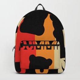 Gummy Bear Junky Retro Design Backpack