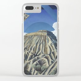 Mount Garfield Polyscape Clear iPhone Case