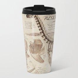 "Loch Ness Monster: ""The Living Plesiosaurus"" - The lost notebook account Travel Mug"