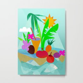 Tropical Vibes 2 Metal Print