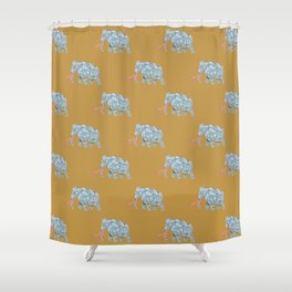 mammoth graphic | feyerabend illustration Shower Curtain