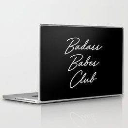 Badass Babes Club 1 Laptop & iPad Skin