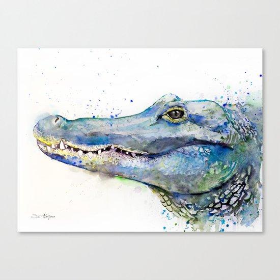 Alligator Canvas Print
