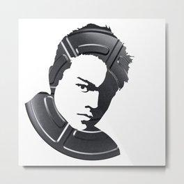 Leonardo DiCaprio Metal Print