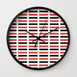 Flag of yemen -yemen,اليَمَن ,Yemeni, Yemenite,Sabaeans,Aden, يمني Wall Clock