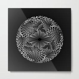 Swirl Portal Metal Print