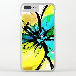 Ecstasy Bloom No.17j by Kathy Morton Stanion Clear iPhone Case