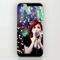 transistor iPhone & iPod Skins featuring Transistor - Before We All Become One… by Danielle Tanimura