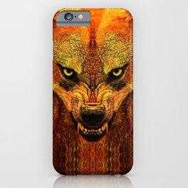 Canis Lupus I iPhone Case