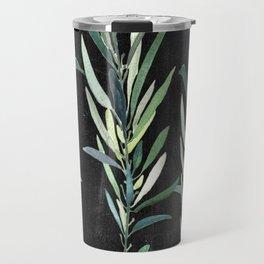 Eucalyptus Branches On Chalkboard Travel Mug