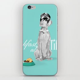 BREAKFAST AT TIFFANY'S WEIM iPhone Skin