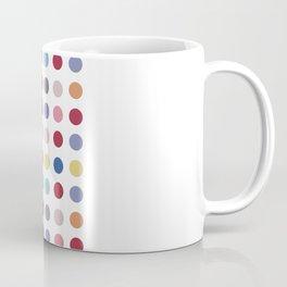 Polka Dots - Color Love Coffee Mug