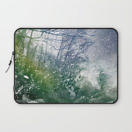 Acrylic Forest Blizzard Laptop Sleeve