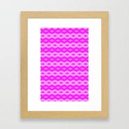 Pink Mink Framed Art Print