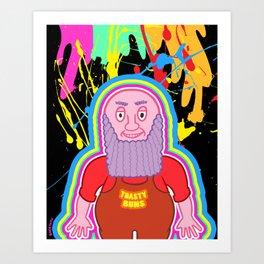 Toasty Buns Art Print
