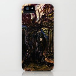 The Owl and Old Gnarly iPhone Case