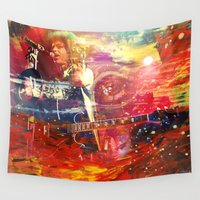 prince Wall Tapestries featuring Prince 3rdEyeGirl by Zooey Art