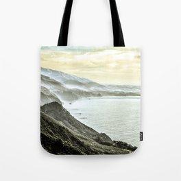 Somewhere over Big Sur. Tote Bag