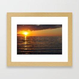 Egg Harbor  Framed Art Print