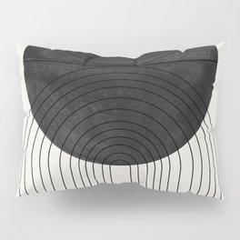 Line Art and Circle Pillow Sham