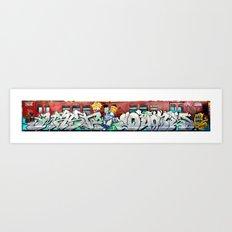 SW Crew Train Art Print