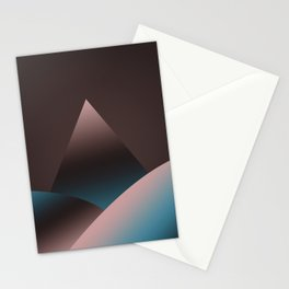Mountain X 2 Stationery Cards