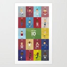 The Tens  Art Print