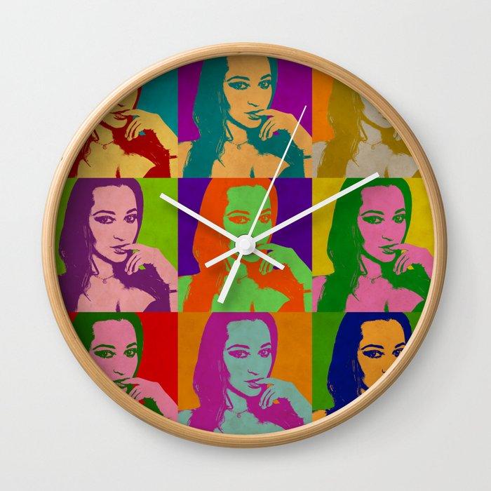 Dani Daniels Wall Clock