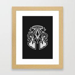 Monograma Allmad7 Framed Art Print