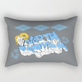 Tarheels (grey) Rectangular Pillow