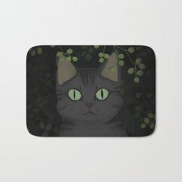 A warrior cat Bath Mat