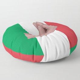 Italian Meme Floor Pillow