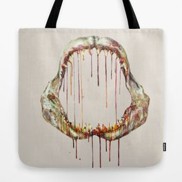 Shark Bone Tote Bag