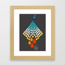 The Firebird Rains Framed Art Print