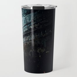 Ruins in  Shadows Travel Mug