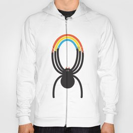 Spiders Are Rainbows Hoody