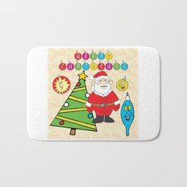 Santa & the Tree Bath Mat