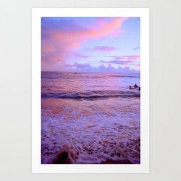 Pink Sunsest Art Print