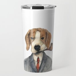 Monsieur Beagle Travel Mug