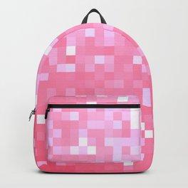 Bubblegum Pink Pixel Sparkle Backpack