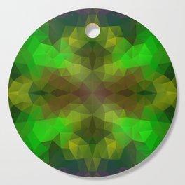 Bright geometric design Cutting Board