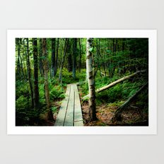 Let's Explore the World Together - Color Art Print