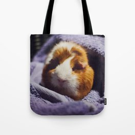 My brothers guinea pig Tote Bag