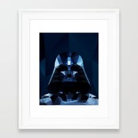 darth Framed Art Prints featuring Darth by Ed Burczyk